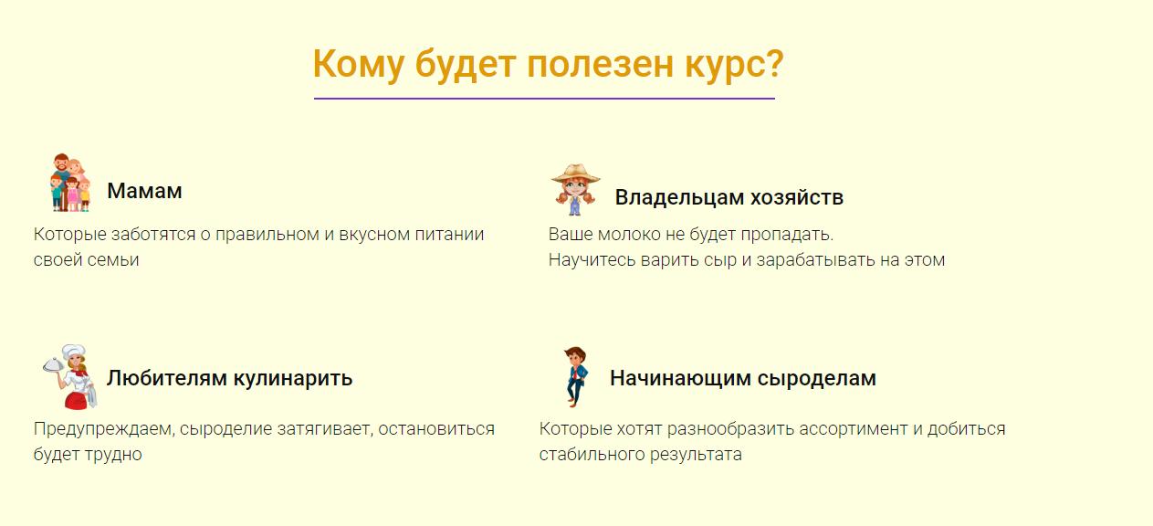 Онлайн-курс домашнего сыроделия (2020) [Светлана Ивлева]