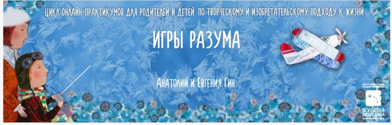 [Анатолий Гин, Евгения Гин] Игры разума (2020)