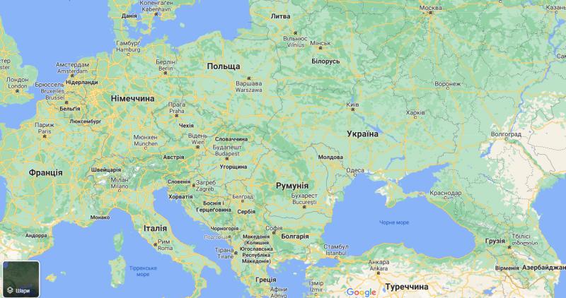 Доступ из Украины